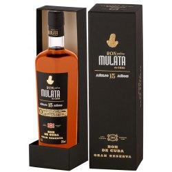 Rum Mulata Ron Palma Mulata De Cuba Anejo 15 Anos con astuccio 1 Bottiglia CL 70