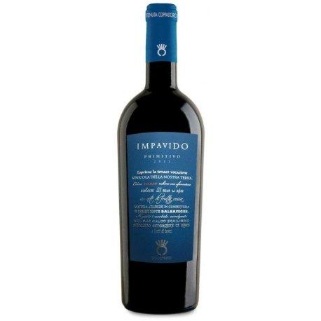 Impavido Primitivo Puglia IGP Tenuta Coppadoro Vino Rosso 1 Bottiglia CL 75