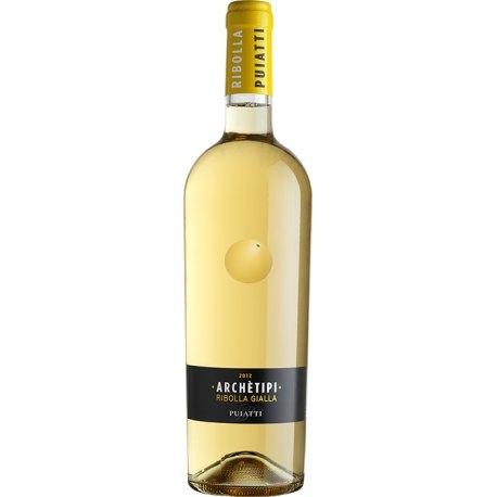 Archètipi Ribolla Gialla Venezia Giulia IGP Puiatti Vino Bianco 1 Bottiglia CL 75