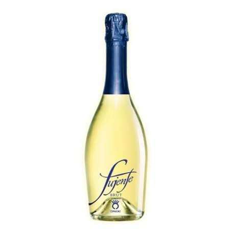 Fujente Bombino Brut Metodo Charmat Puglia IGP Tenuta Coppadoro Vino Bianco 1 Bottiglia CL 75