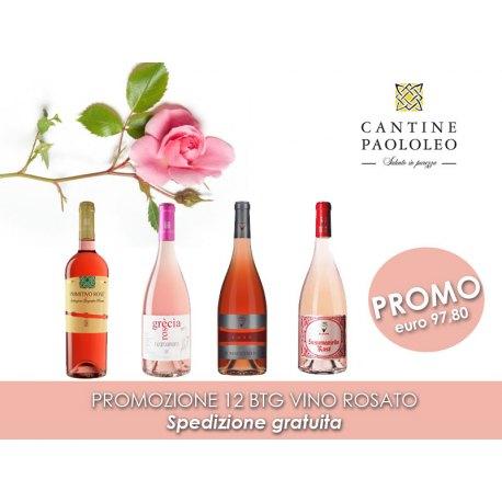 Promozione Rose' 12 bottiglie