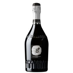 Sior Sandro Spumante Prosecco Extra Dry DOC Glera Ottopiù Vineyards V8+ Vino Bianco 1 Bottiglia CL 75