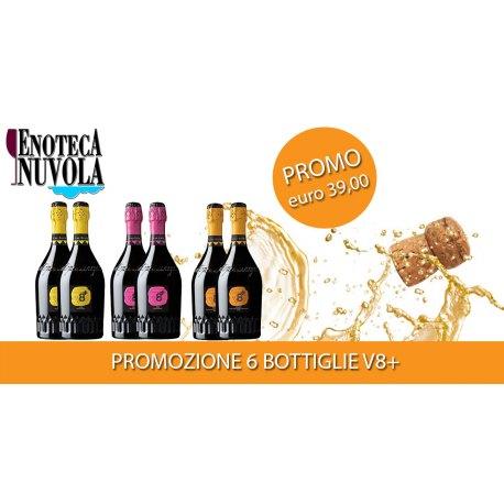 Promo V8+ 6 bottiglie