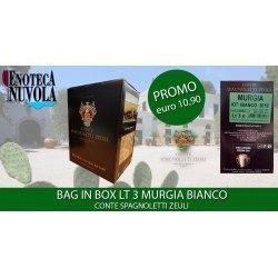 Bag in Box Murgia Bianco IGT Conte Spagnoletti Zeuli LT 3