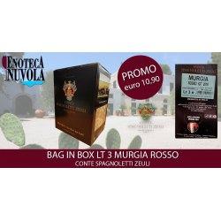 Bag in Box Murgia Rosso IGT Conte Spagnoletti Zeuli LT 3