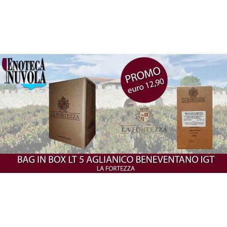 Bag in Box Aglianico Beneventano IGT La Fortezza LT 5