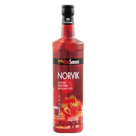 Vodka Norvik Fragola 20° LT 1