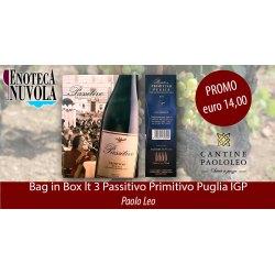 Bag in Box Passitivo Primitivo IGT Paolo Leo LT 3
