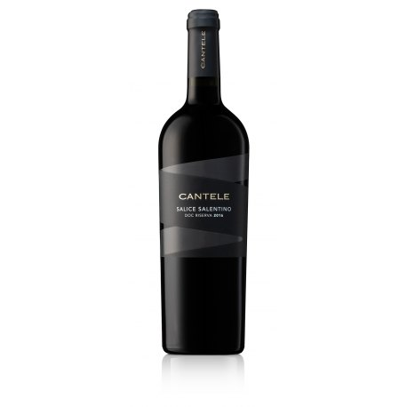 Salice Salentino DOC Riserva Negroamaro Cantele Vino Rosso 1 Bottiglia CL 75