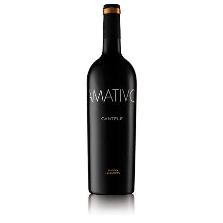 Amativo Primitivo e Negroamaro Salento IGT Cantele Vino Rosso 1Bottiglia CL 75