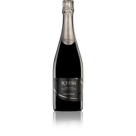 Rohesia Brut Rosè Spumante Metodo Classico Negroamaro Salento IGT Cantele Vino Rosato 1 Bottiglia CL 75