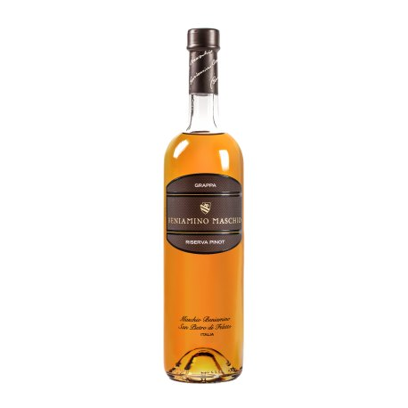 Grappa monovarietale Riserva Pinot Beniamino Maschio CL. 70