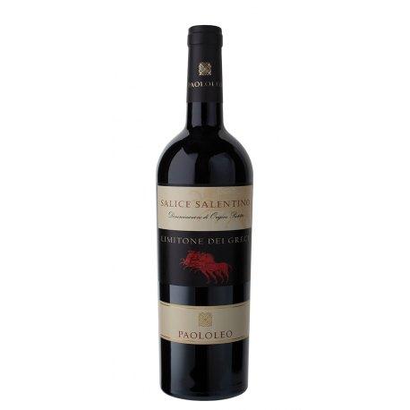 Limitone dei Greci Salice Salentino DOC Cantine Paololeo Vino Rosso 1 Bottiglia CL 75