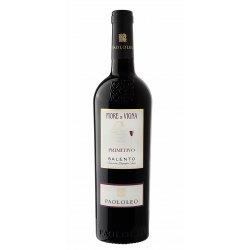 Fiore di Vigna Salento IGP Primitivo Cantine Paololeo Vino Rosso 1 Bottiglia CL 75