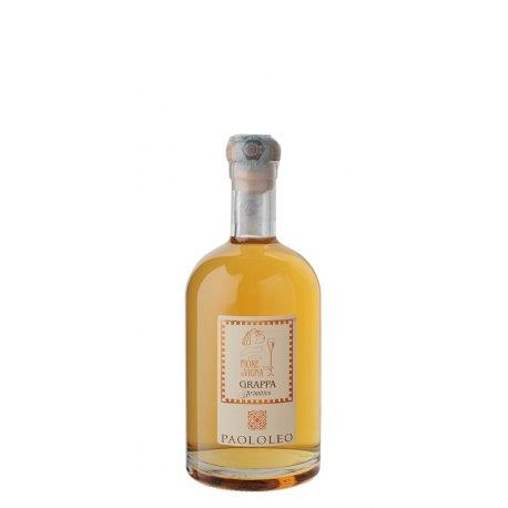 Grappa Fiore di Vigna Primitivo Cantine Paololeo 1 Bottiglia CL 50